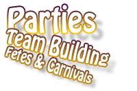 For parties, team building and fetes
